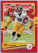 2020 Donruss Football JuJu Smith-Schuster PRESS PROOF Red Parallel #214