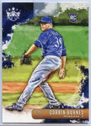 2019 Panini Diamond Kings Baseball Corbin Burnes Rookie Card #43 Brewers