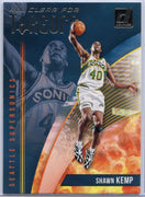 Shawn Kemp ALL CLEAR FOR TAKEOFF Card #9 2018-19 Donruss Basketball
