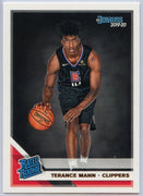 Terance Mann Rated Rookie Card #242 2019-20 Panini Donruss Basketball