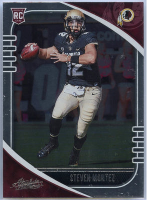 2020 Absolute Football Steven Montez Rookie Card #179