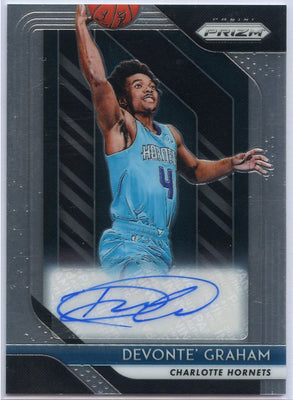 2018-19 Prizm Devonte' Graham Rookie Autograph Card #RS-DGR