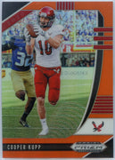 2020 Prizm Draft Picks Cooper Kupp ORANGE PRIZM Football Card #19