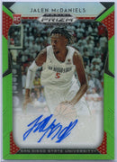 2019 Prizm Draft Picks 08/100 Jalen McDaniels Autograph Rookie Card Prizm #52