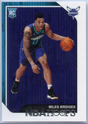 2018-19 HOOPS BASKETBALL Miles Bridges Rookie Card #272 Hornets