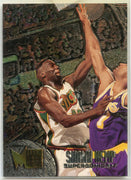 1995-96 FLEER METAL Shawn Kemp Card #192