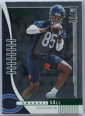 2019 Absolute Football Emanuel Hall Rookie Card #148