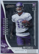 2019 Absolute Football Dillon Mitchell Rookie Card #171 Vikings WR