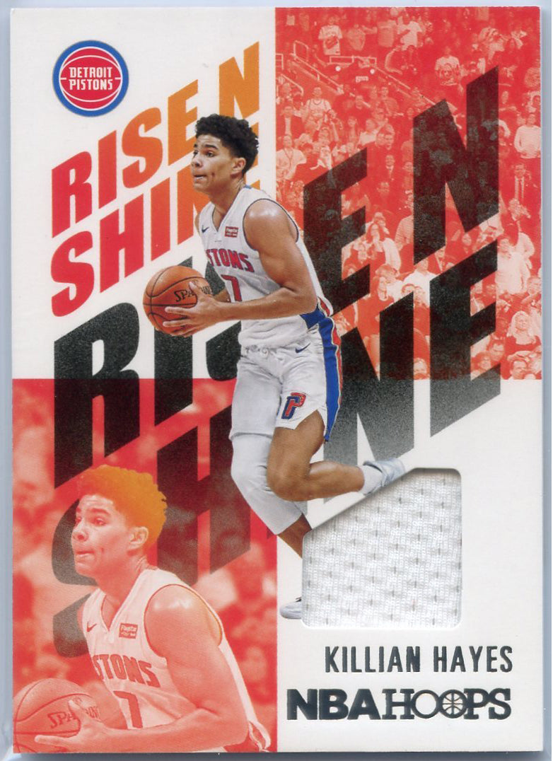 2020-21 Hoops Basketball Rise N Shine Killian Hayes RNS-KHL