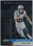 2020 Absolute Football Christian McCaffrey STAR GAZING Card #SG-CM