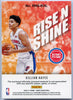 2020-21 Panini NBA HOOPS Basketball Killian Hayes RISE N SHINE jersey patch RNS-KHL