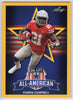 2019 Leaf Draft All-American Yellow Parris Campbell #80 Card