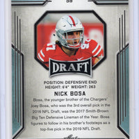 Leaf Draft Nick Bosa Rookie Card