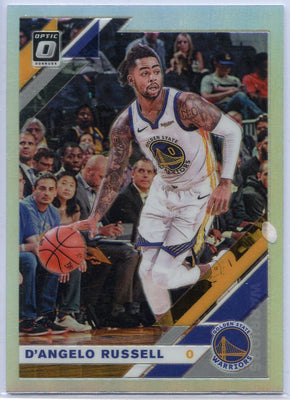 2019-20 Donruss Optic Basketball D'Angelo Russell Silver Prizm Card #28