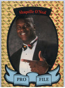 Shaquille O'Neal Pro File Promotional Card