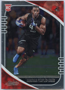 2020 Absolute Football Donovan Peoples-Jones Rookie Card #134 Cleveland Browns wide receiver