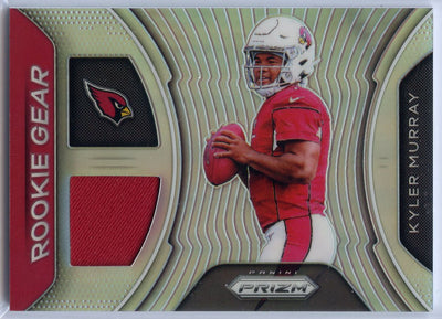 2019 Prizm Football Kyler Murray Rookie Gear PRIZM Jersey Patch RC Card #RG-KM
