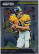 2019 Panini Prizm Draft Picks Brett Favre #16 University of Southern Mississippi Card