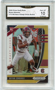 /149 2020 Prizm Draft Picks Bryan Edwards Neon Orange PRIZM Rookie Card #141 GMA 10