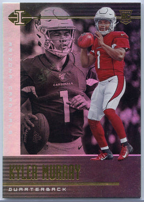 2019 Illusions Football Kyler Murray Rookie Card #1 Cardinals QB