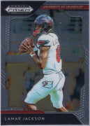2019 Panini Prizm Draft Picks Lamar Jackson #60 Louisville Card