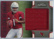 /299 2019 Playbook Football MAMMOTH MATERIALS Kyler Murray Rookie Card Patch MM-2