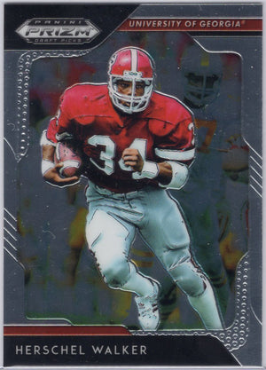 2019 Panini Prizm Draft Picks Herschel Walker #41 Georgia Card