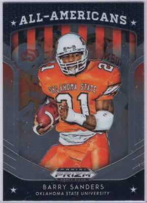 2019 Panini Prizm Draft Picks All-Americans Barry Sanders #29 Card