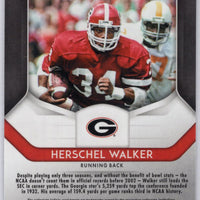 Herschel Walker #41 Georgia card