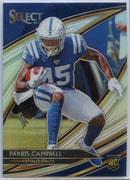 Parris Campbell PRIZM Rookie Card #258 2019 Select Football Colts wide receiver