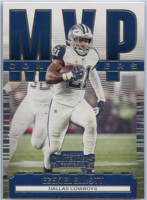 2020 Contenders Football MVP Ezekiel Elliott Card #MC-EE