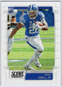 2019 SCORE Benny Snell Jr. Rookie Card