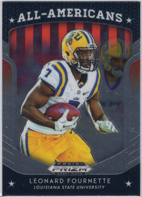 2019 Panini Prizm Draft Picks All-Americans Leonard Fournette #70 LSU