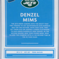 2020 Panini Donruss Optic Football PINK PRIZM Denzel Mims rookie card number 173 New York Jets