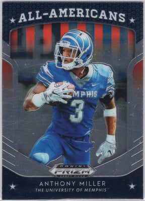 2019 Panini Prizm Draft Picks All-Americans Anthony Miller #7 Card
