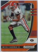 2020 Prizm Draft Picks Mecole Hardman Jr ORANGE PRIZM Football Card #73