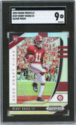 2020 Prizm Draft Picks Henry Ruggs III SILVER Prizm Rookie Card # 109