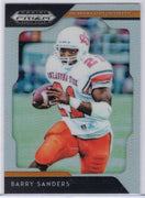 2019 Panini Prizm Draft Picks Barry Sanders OSU card
