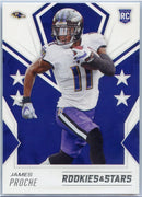 2020 Rookie & Stars James Proche Rookie Card #161 Baltimore wide receiver