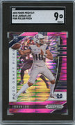 2020 Prizm Draft Picks Jordan Love PINK PRIZM Rookie Card #148 Graded SGC 9