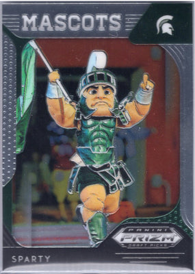 2019 Panini Prizm Draft Picks Mascots #67 Sparty