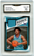 2018-19 Donruss Basketball Devonte Graham ROOKIE JERSEYS Card #RJ-DGR graded gem mint 10 GMA