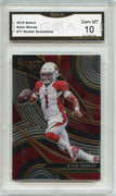 2019 Select Football Kyler Murray Rookie Sensations Card #11 Graded Gem Mint 10 GMA