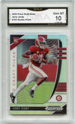 2020 Prizm Draft Picks Jerry Jeudy SILVER PRIZM Rookie Card #103 Graded Gem Mint 10 GMA