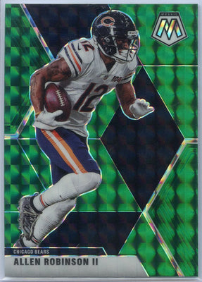 2020 Mosaic Football Allen Robinson II GREEN PRIZM Card #44
