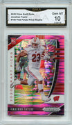 2020 Prizm Draft Picks Jonathan Taylor PINK PRIZM Rookie Card #106 Graded Gem Mint 10 GMA