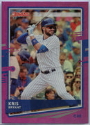 2020 Donruss Baseball Kris Bryant Holo PURPLE Parallel Card #180
