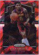 2019-20 Prizm Basketball Kevin Porter Jr Rookie Card Red Cracked Ice #274