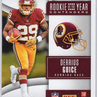 2018 Panini Rookie of the Year Contenders Derrius Guice RC