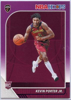 Kevin Porter Jr Rookie Card #225 Purple Parallel 2019-20 NBA HOOPS Basketball